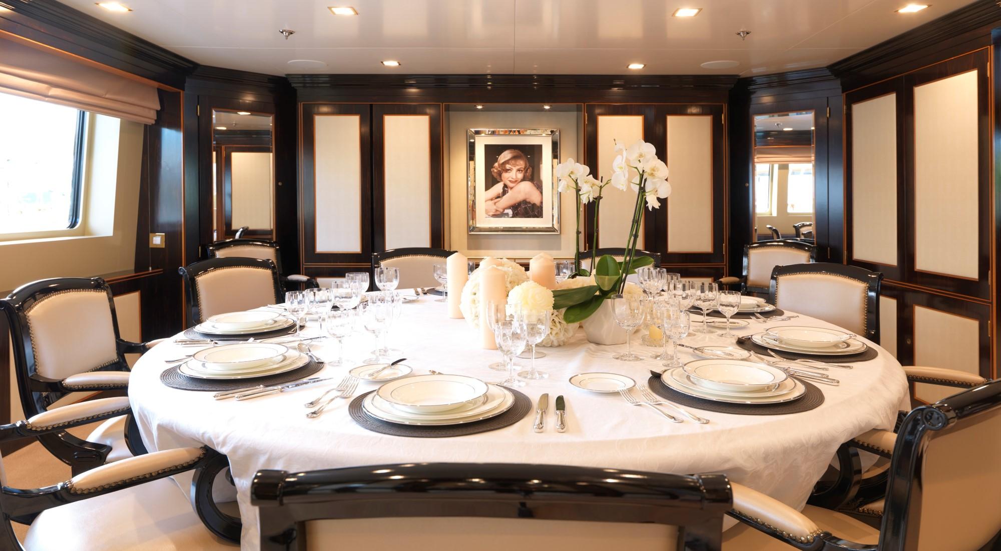 Main Deck Formal Dining Setting