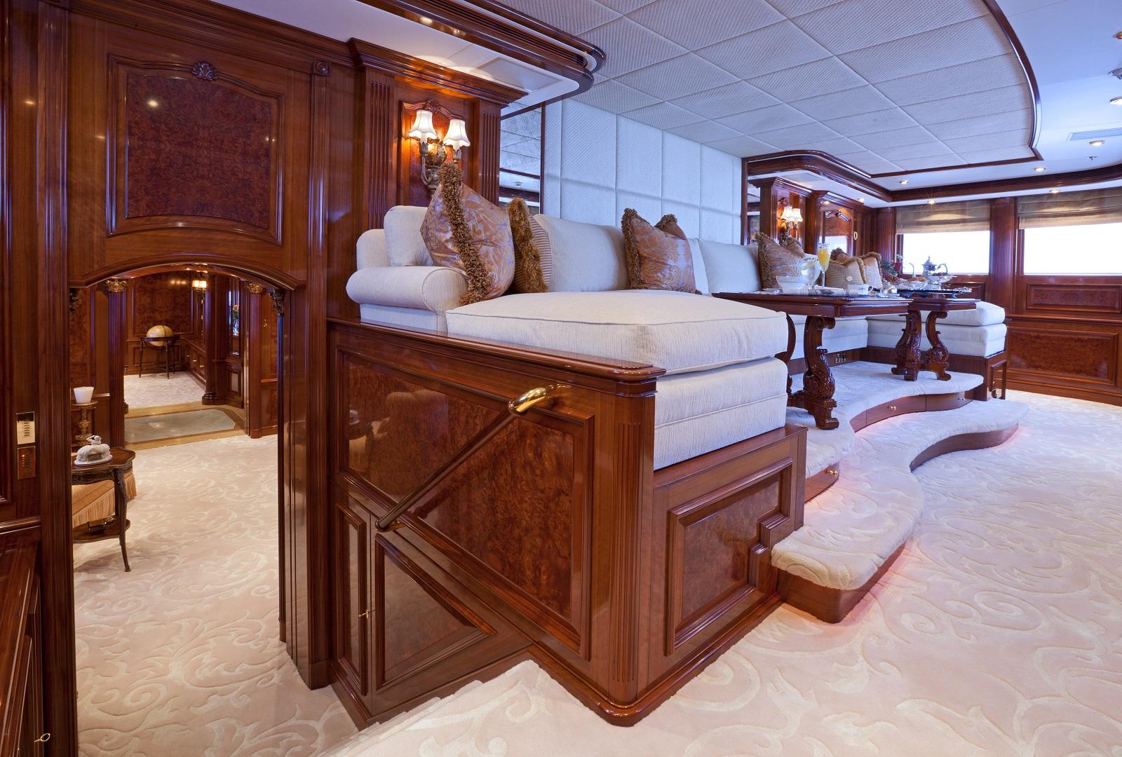 Master Cabin Private Lounge