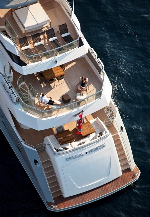Motor Yacht IMPERIAL PRINCESS BEATRICE By Sunseeker - Aft Decks