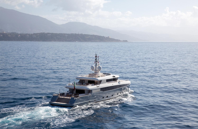 Rossinavi Motor Yacht ASLEC 4 - Running
