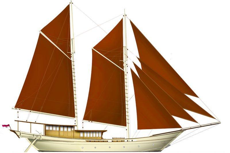 SI DATU BUA  Indonesian Yacht