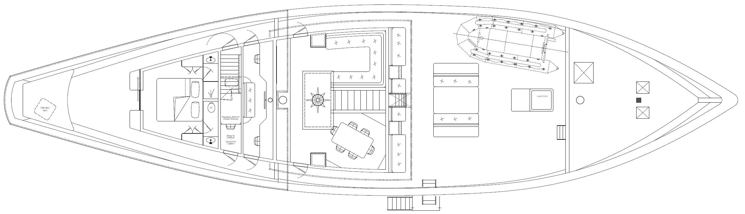 SI DATU BUA - Deck Plan