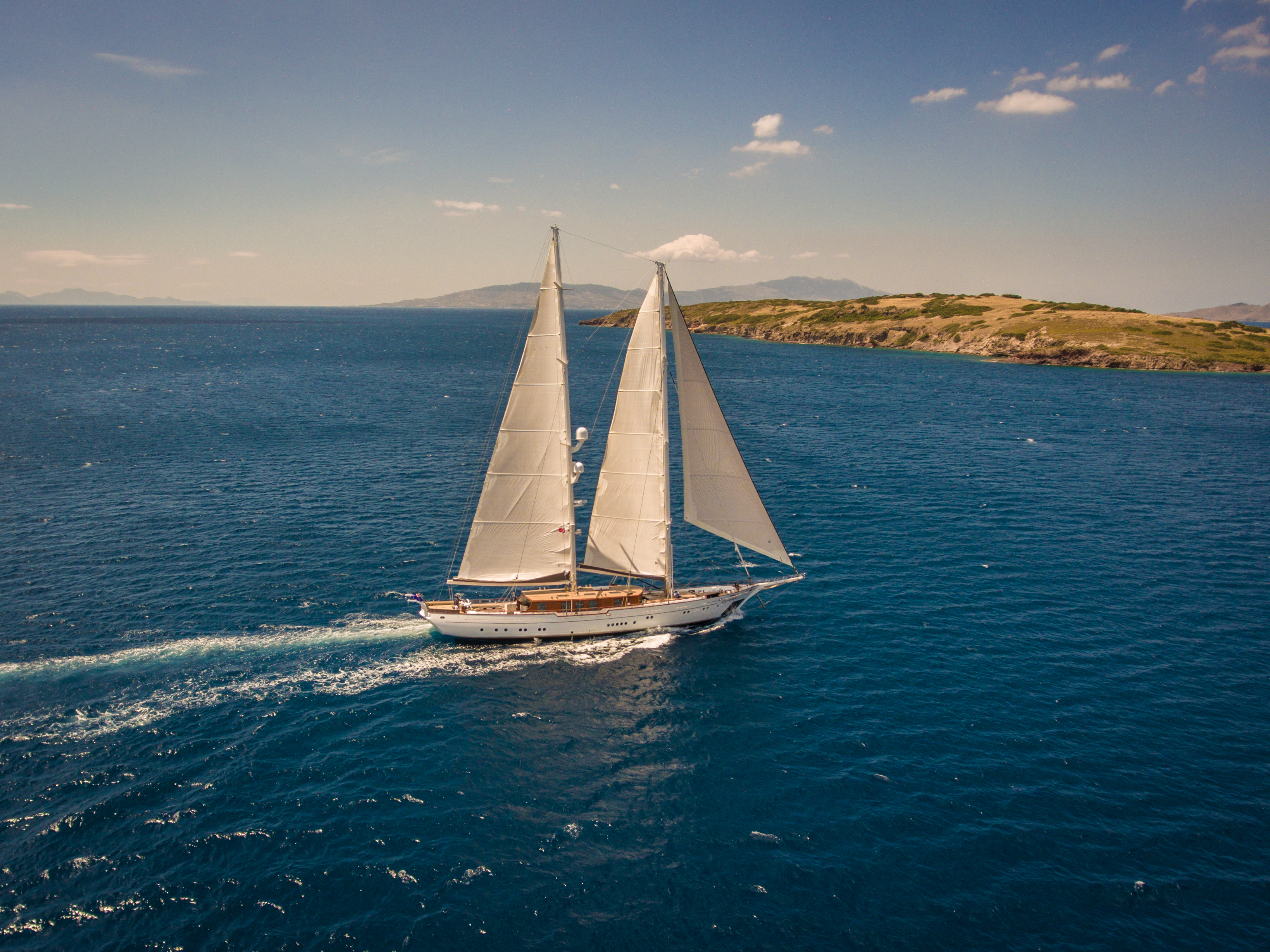 Sailing Starboard View