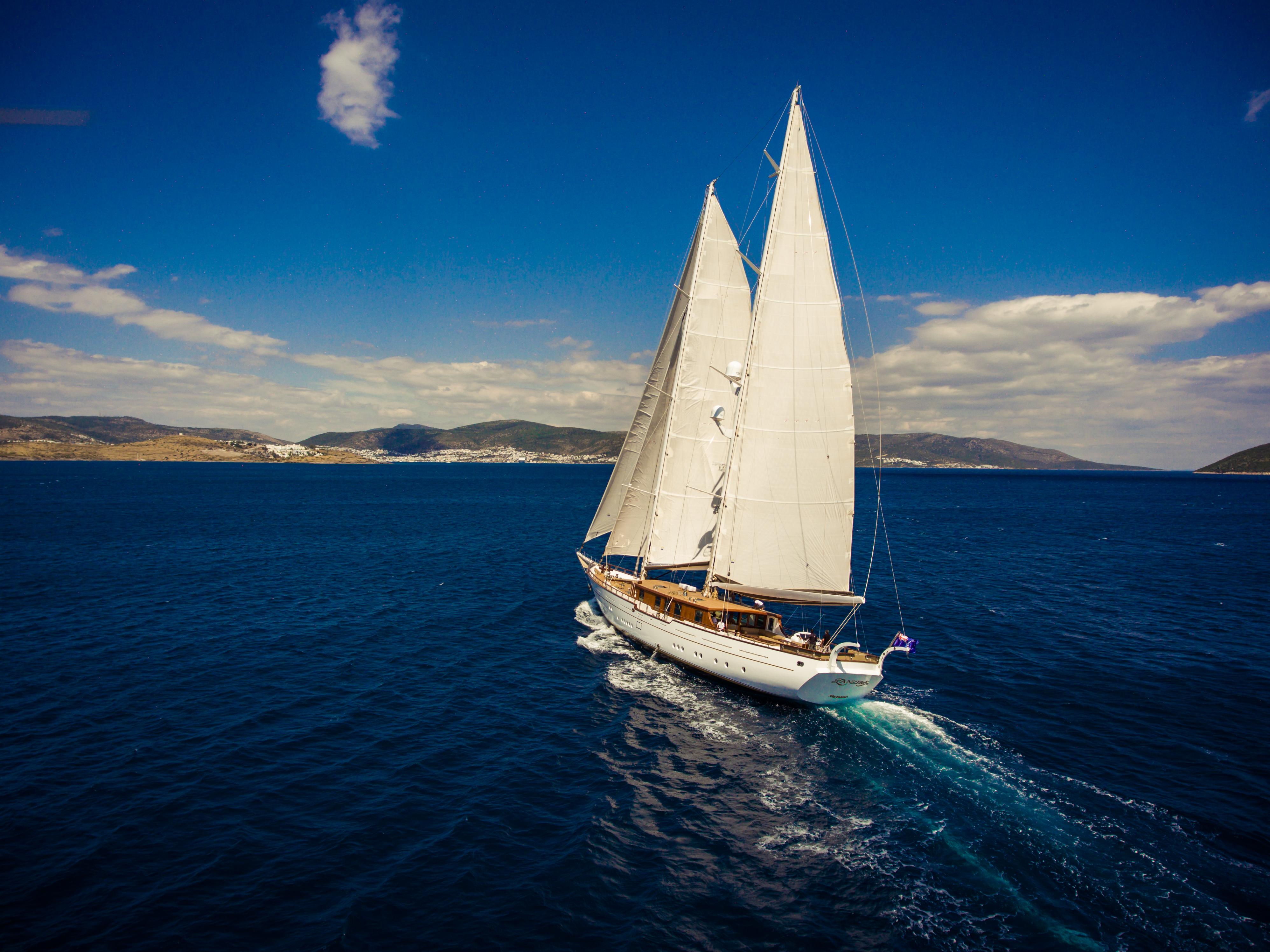 Sailing Stern View