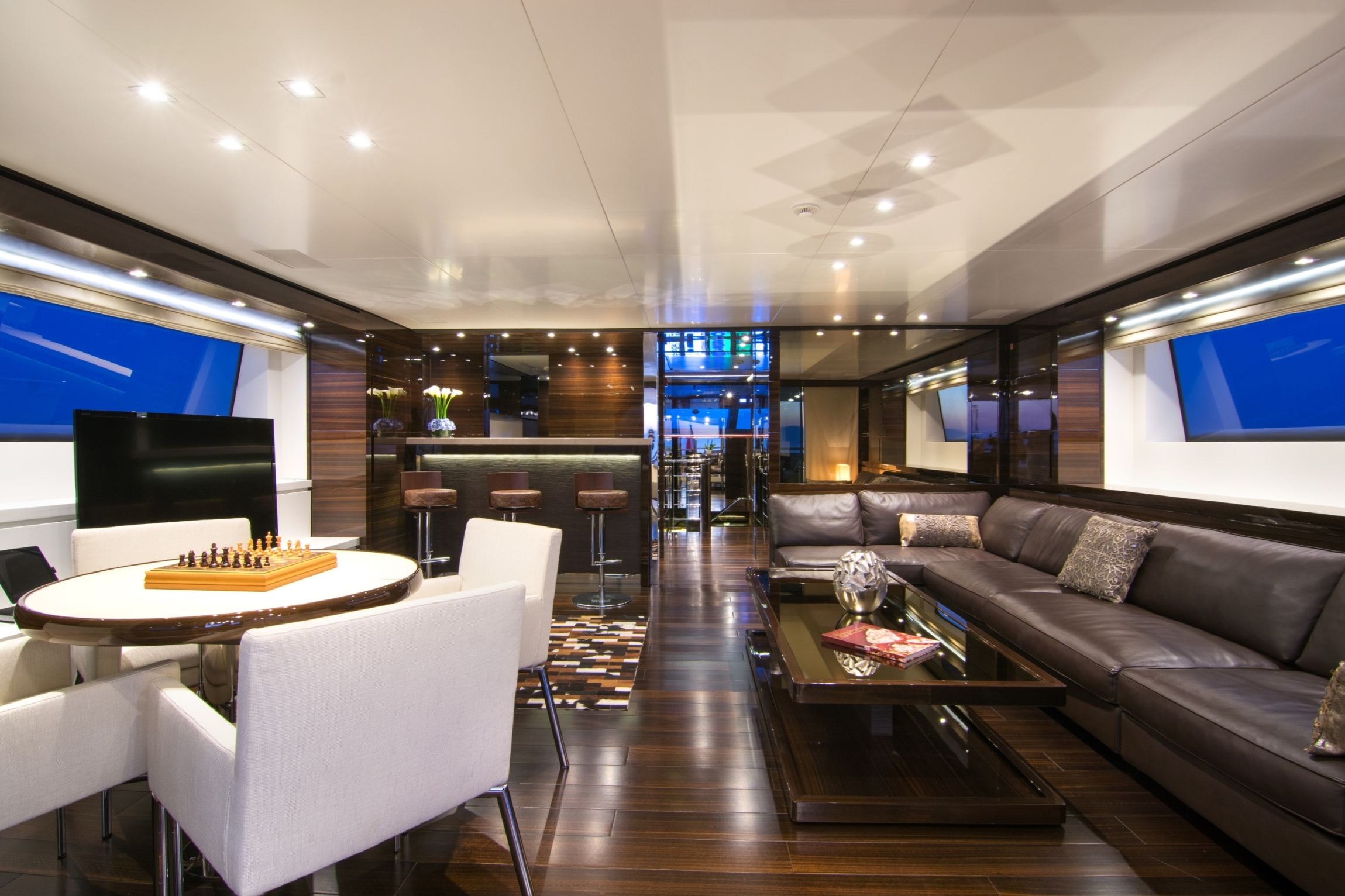 Skylounge With Seating And Wet Bar