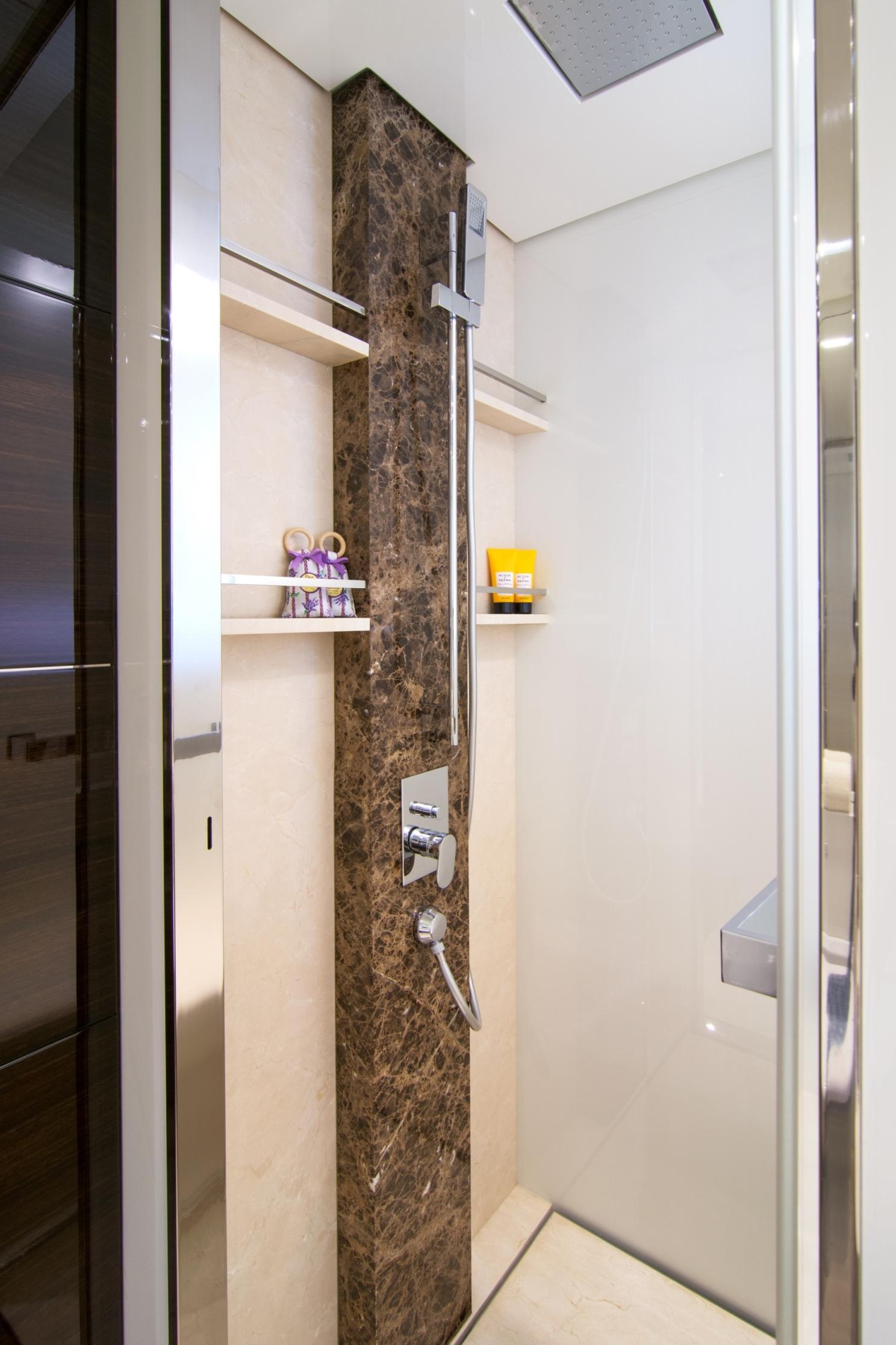 Twin Cabin Shower