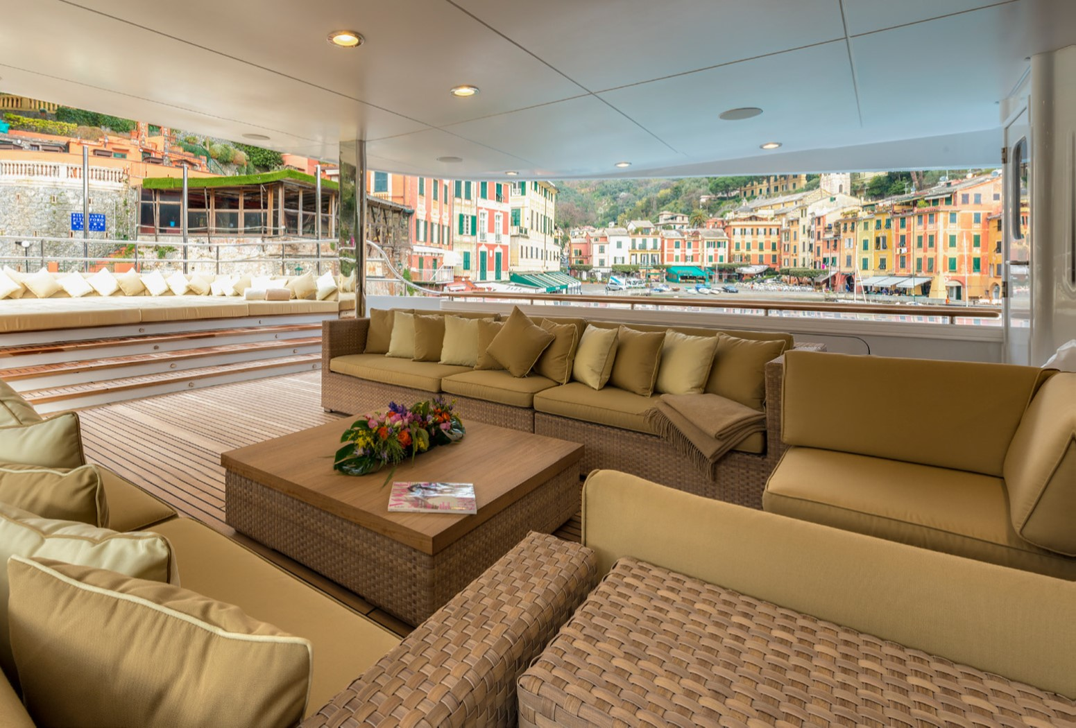 Upper Deck Aft Seating - Portofino In Italy