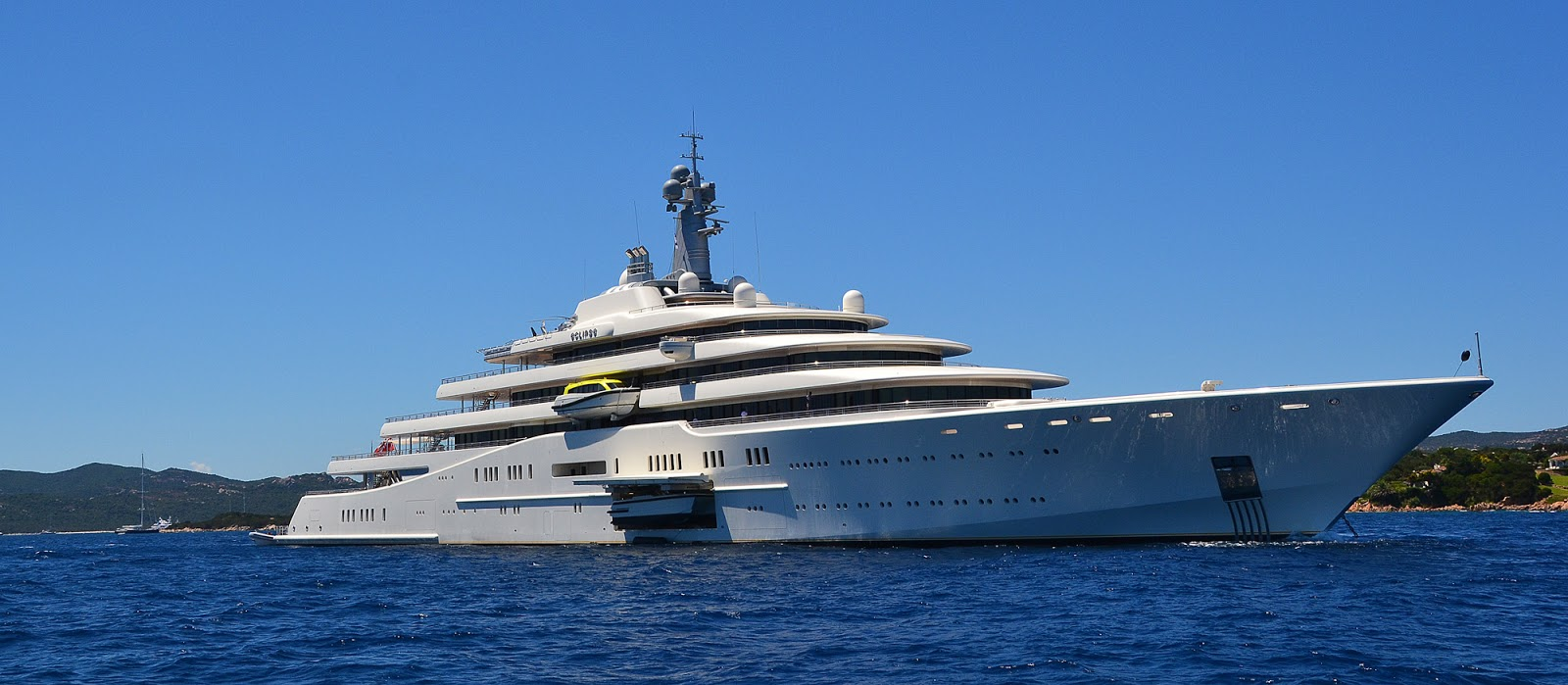 Yacht ECLIPSE By Blohm & Voss - In Sardinia