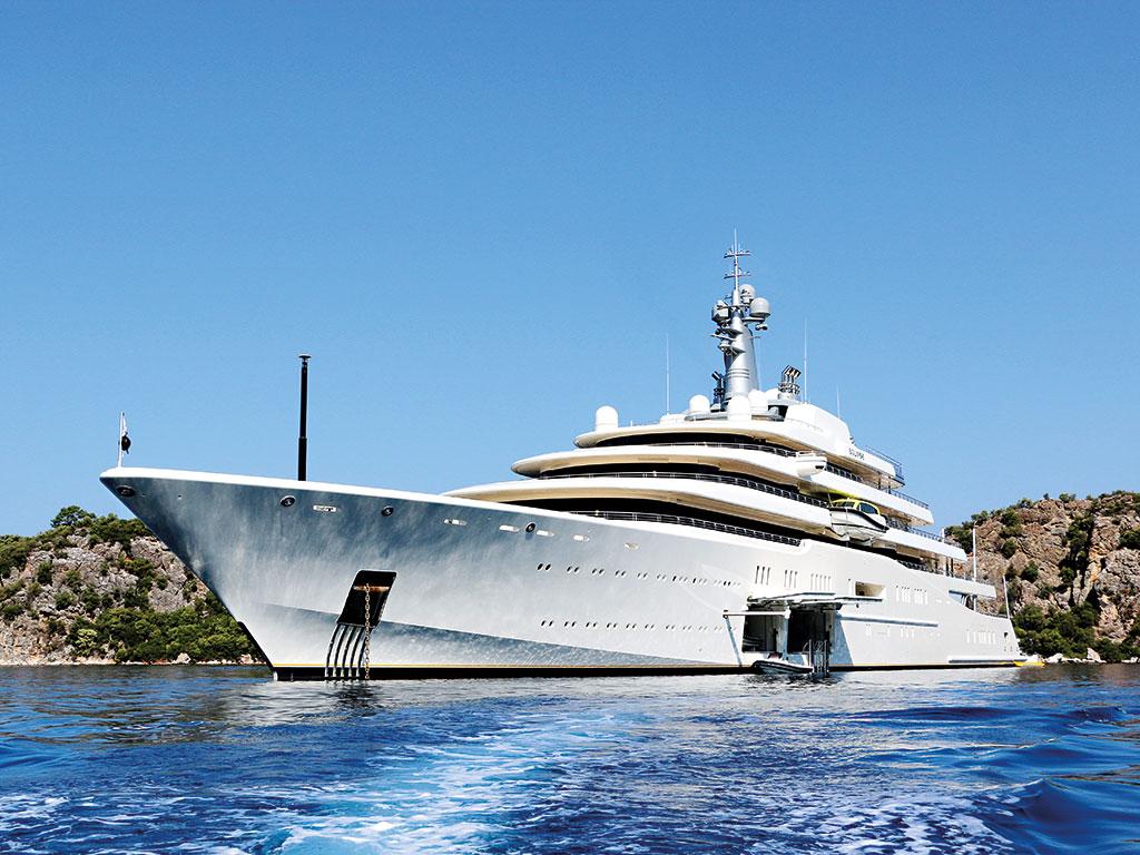 Yacht ECLIPSE By Blohm & Voss - Mediterranean