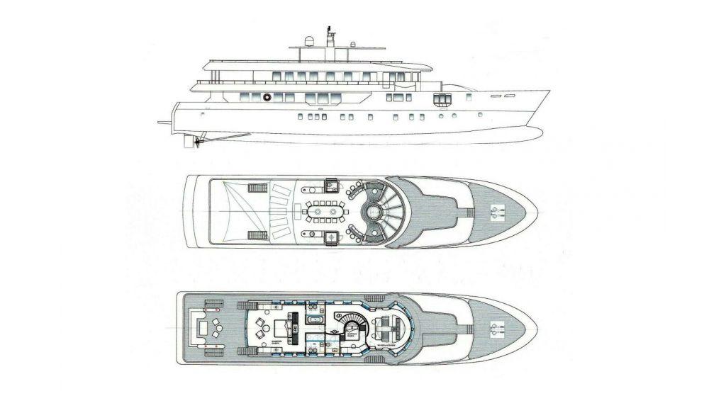 Yacht PALMARINA By Orkun - Layout 2