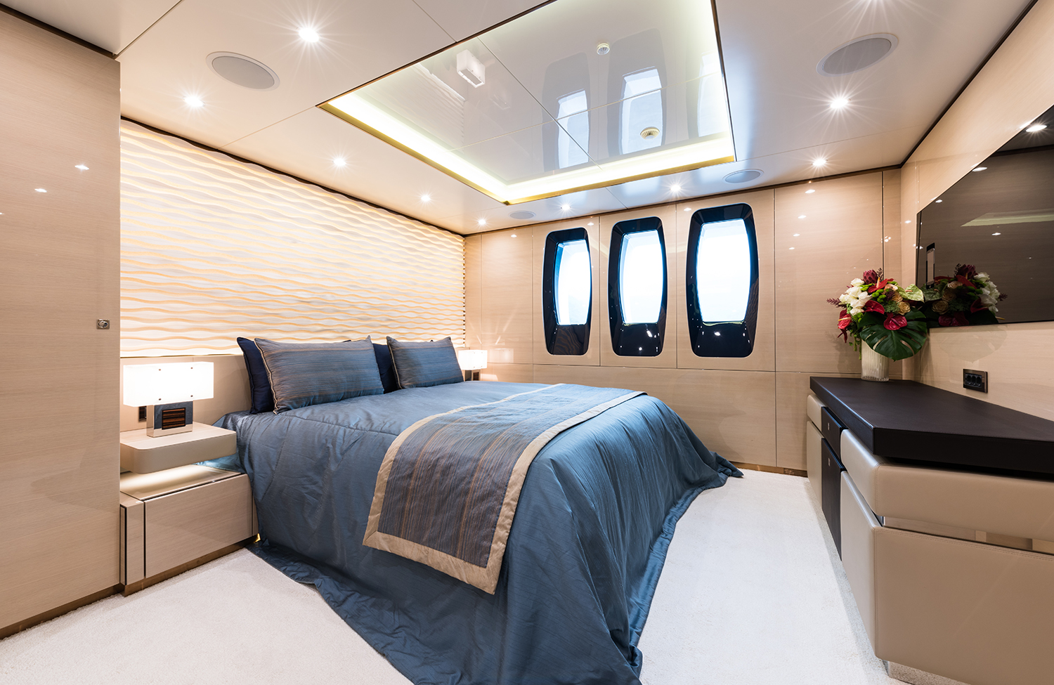 Double Stateroom On The Lower Deck