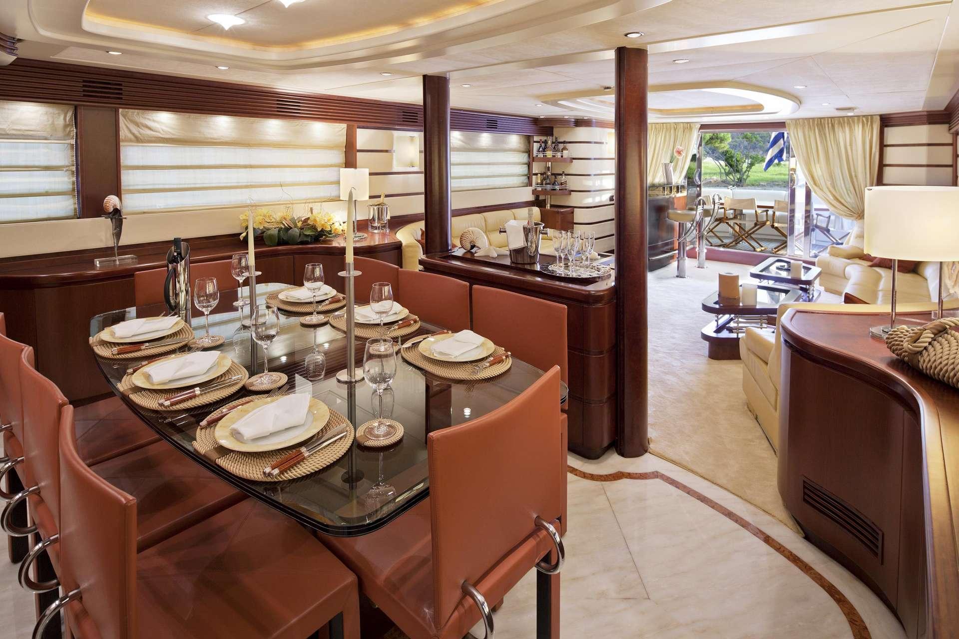 Interior Dining On Board
