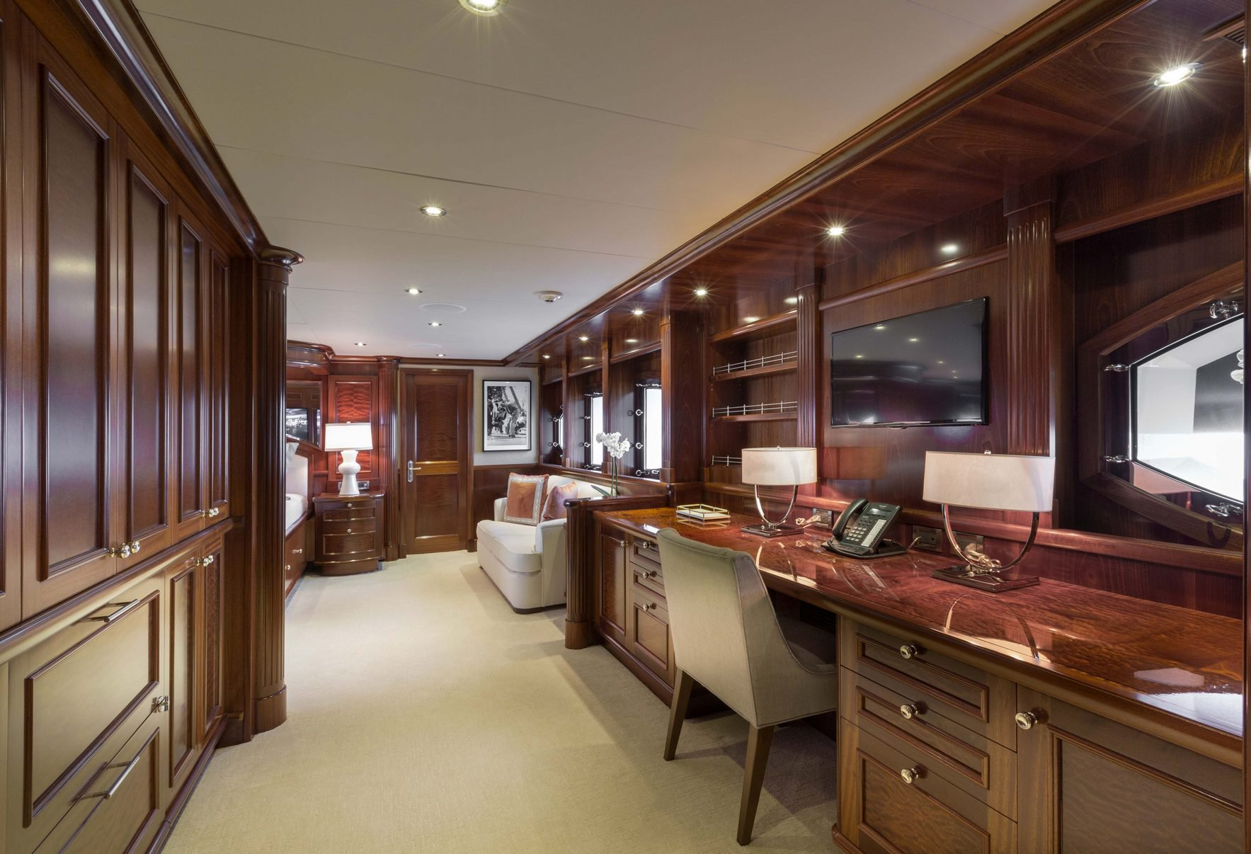 Master Cabin Desk