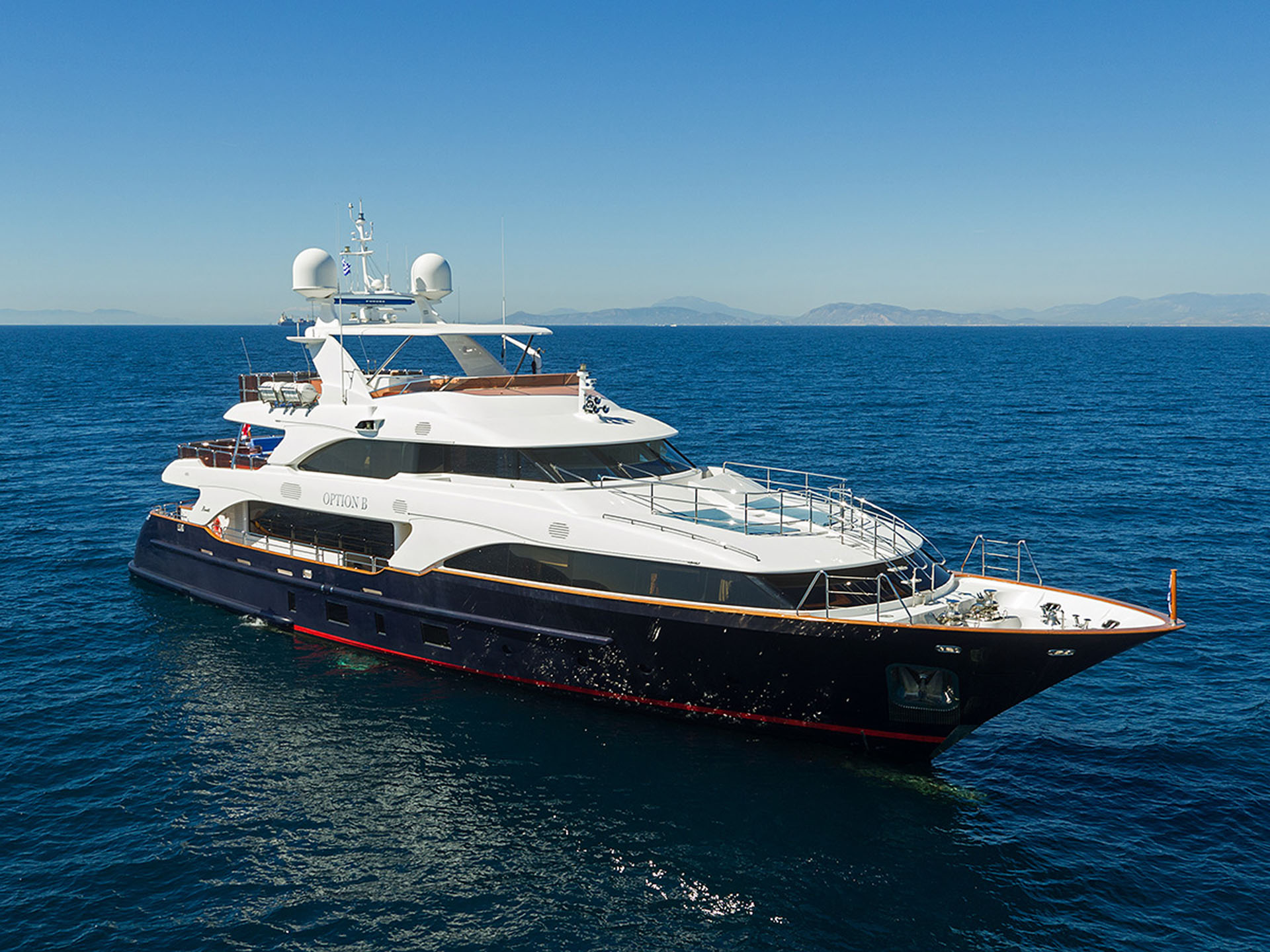 Profile Of The Superyacht OPTION B