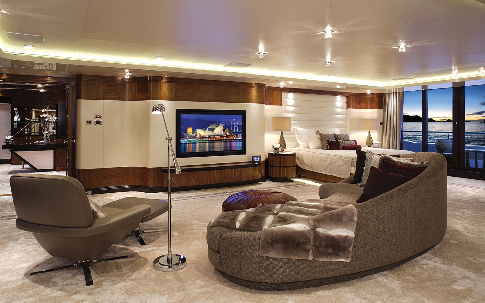 Saloon And Tv