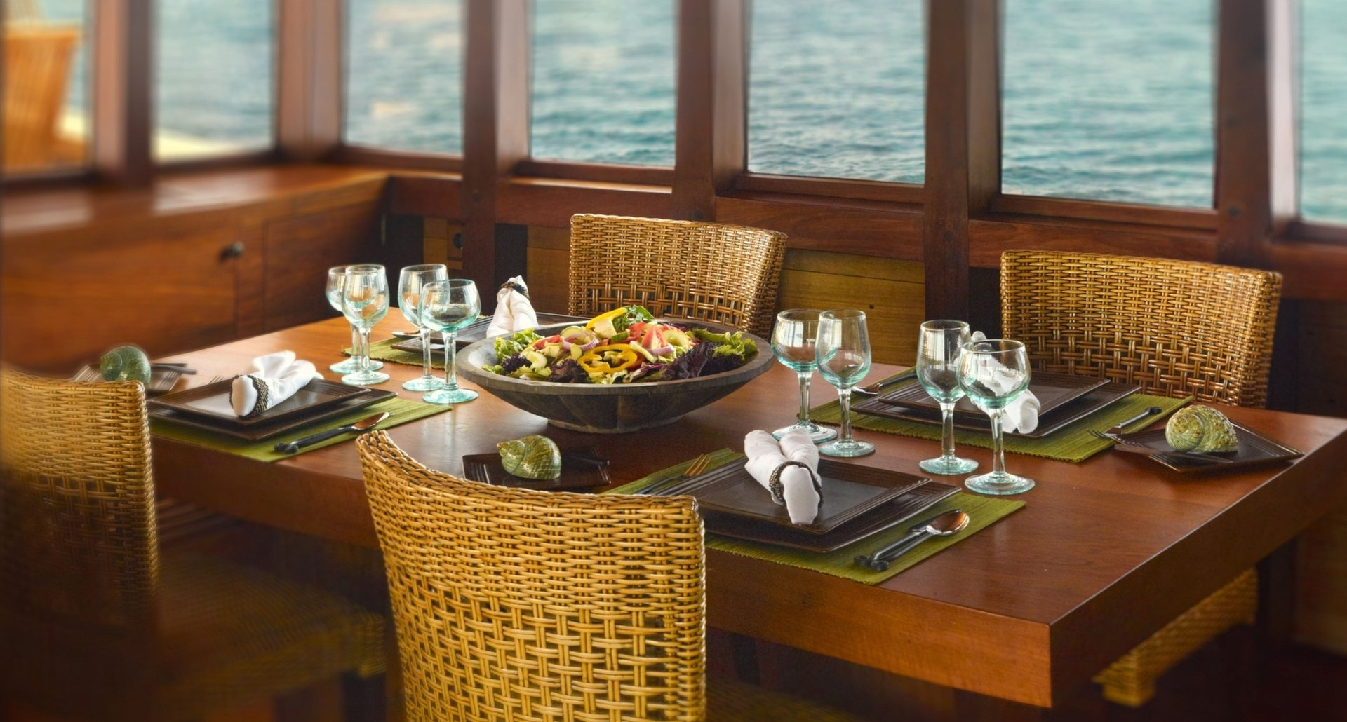 Tasting The Chef's Exquisite Cuisine On Board SI DATU BUA