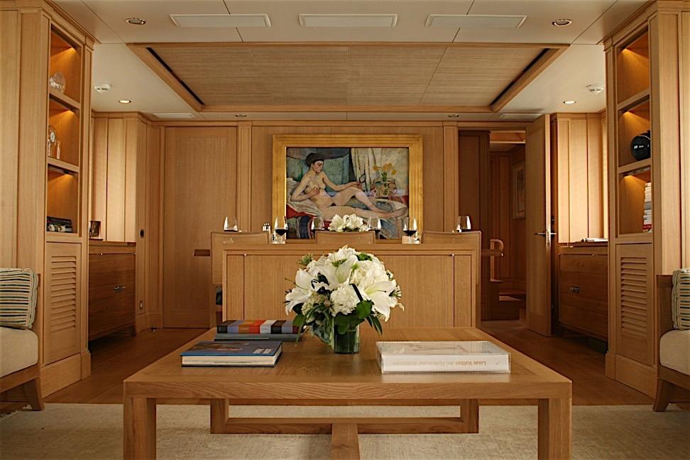 Yacht BELLE ISLE - Salon