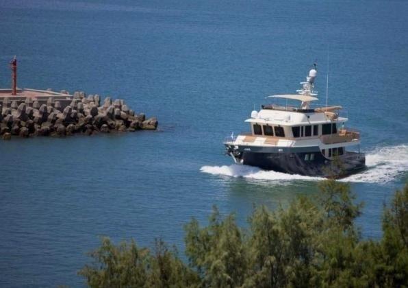 The 21m Yacht SAPUCAI