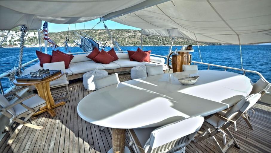 exterior deck areas
