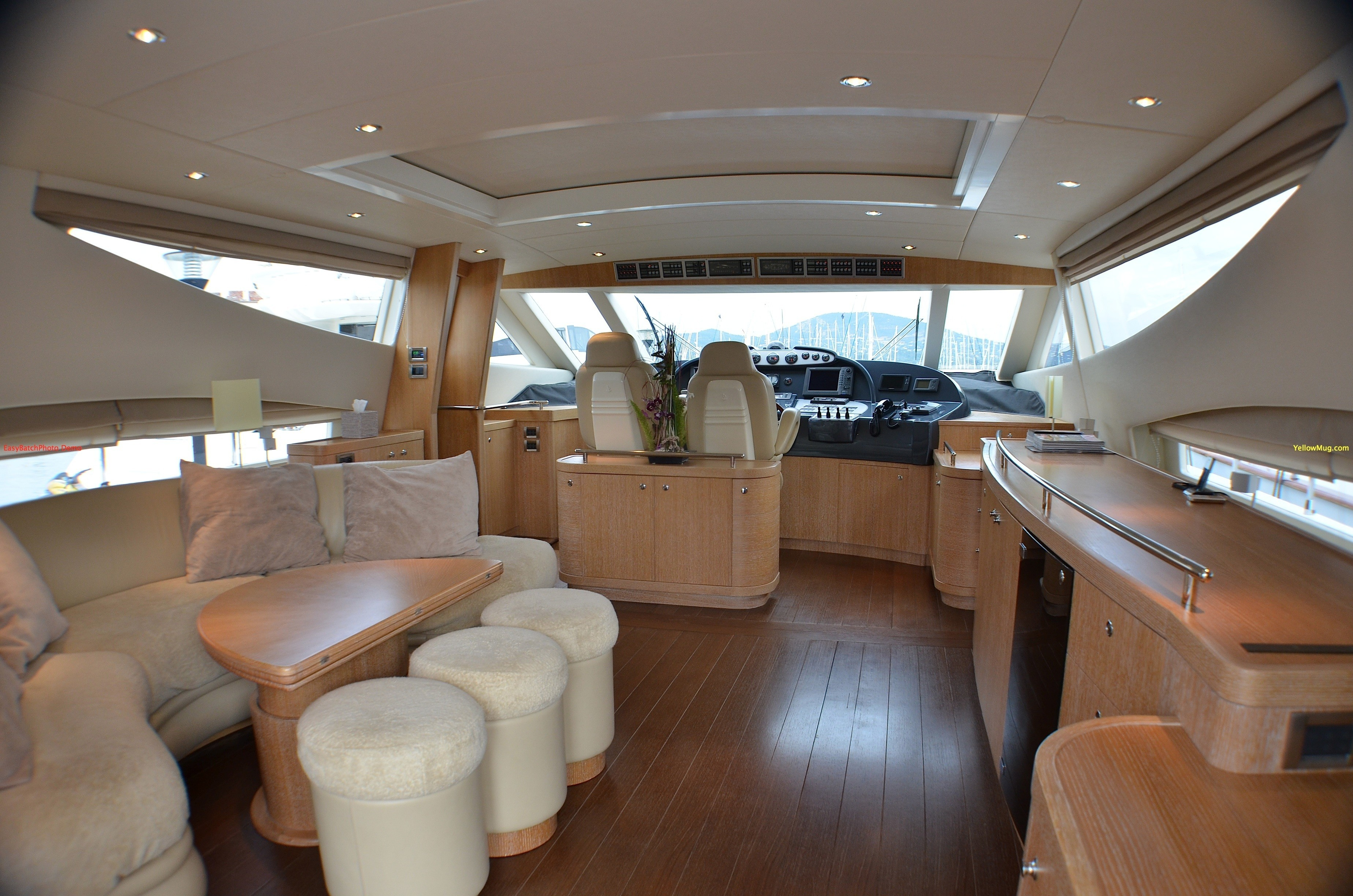 Inside On Board Yacht WELL DONE
