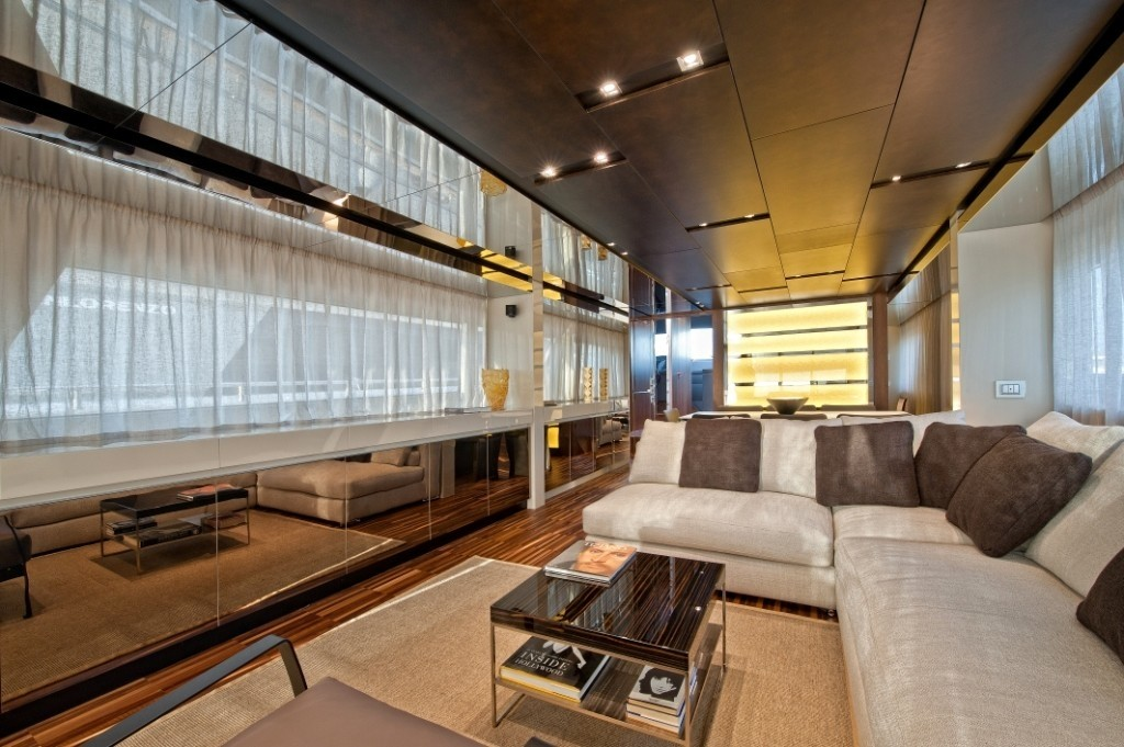 Inside On Board Yacht FORTUNA