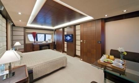 Main Master Cabin On Board Yacht ANDREIKA