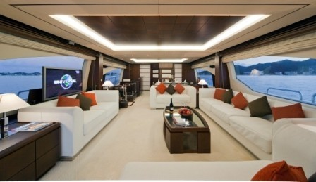 Saloon On Board Yacht ANDREIKA