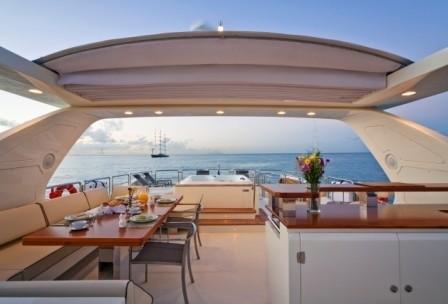 Sun Deck On Yacht ANDREIKA