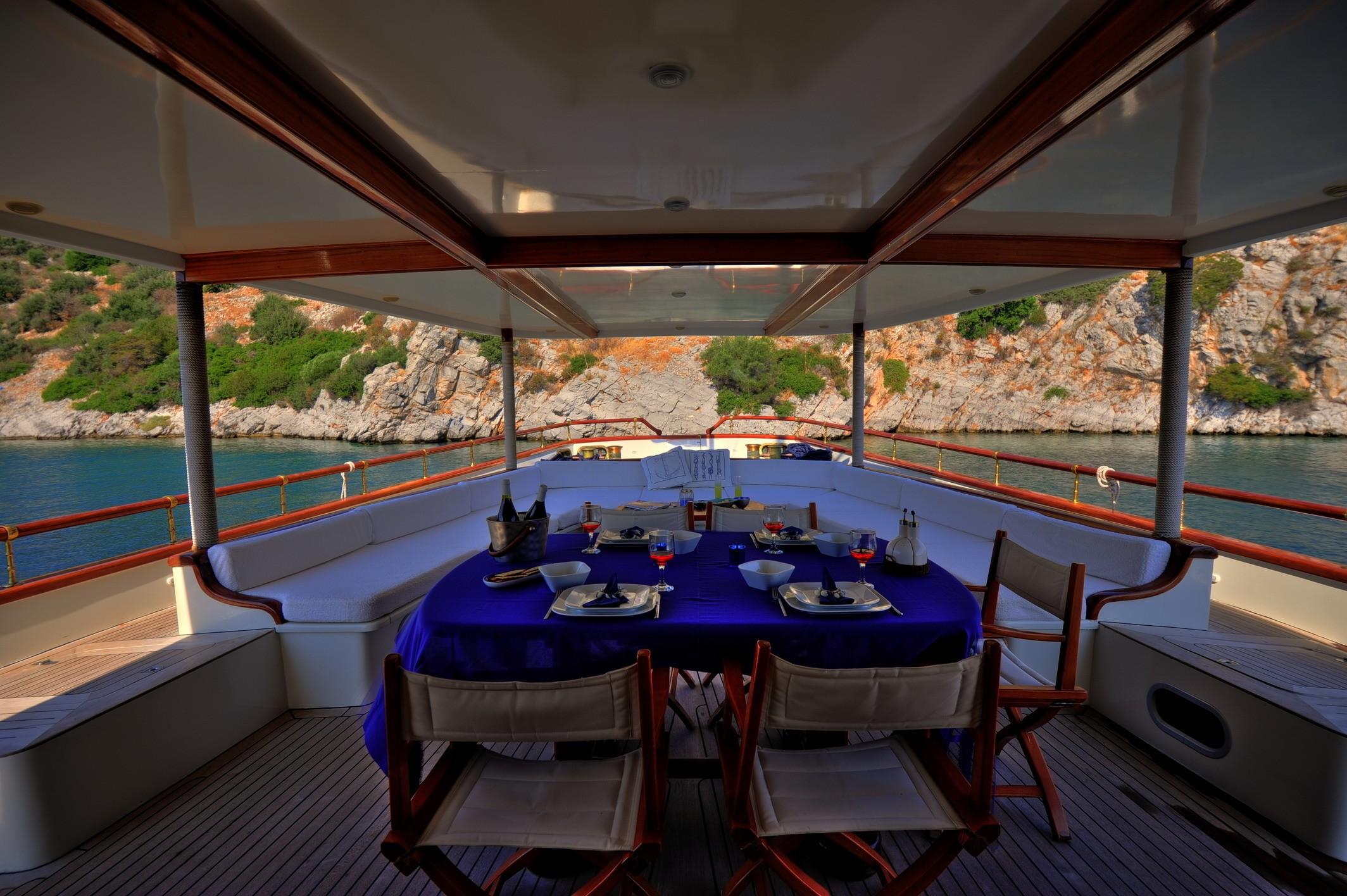 External Eating/dining On Yacht EL BANDIDO