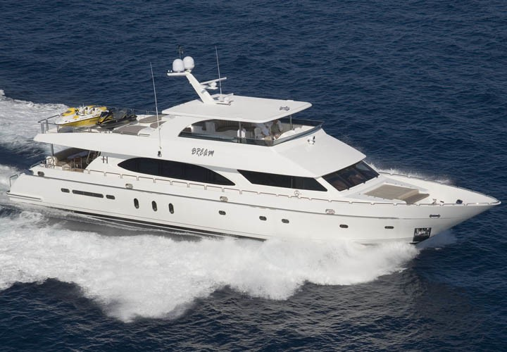 The 32m Yacht EXIT STRATEGY