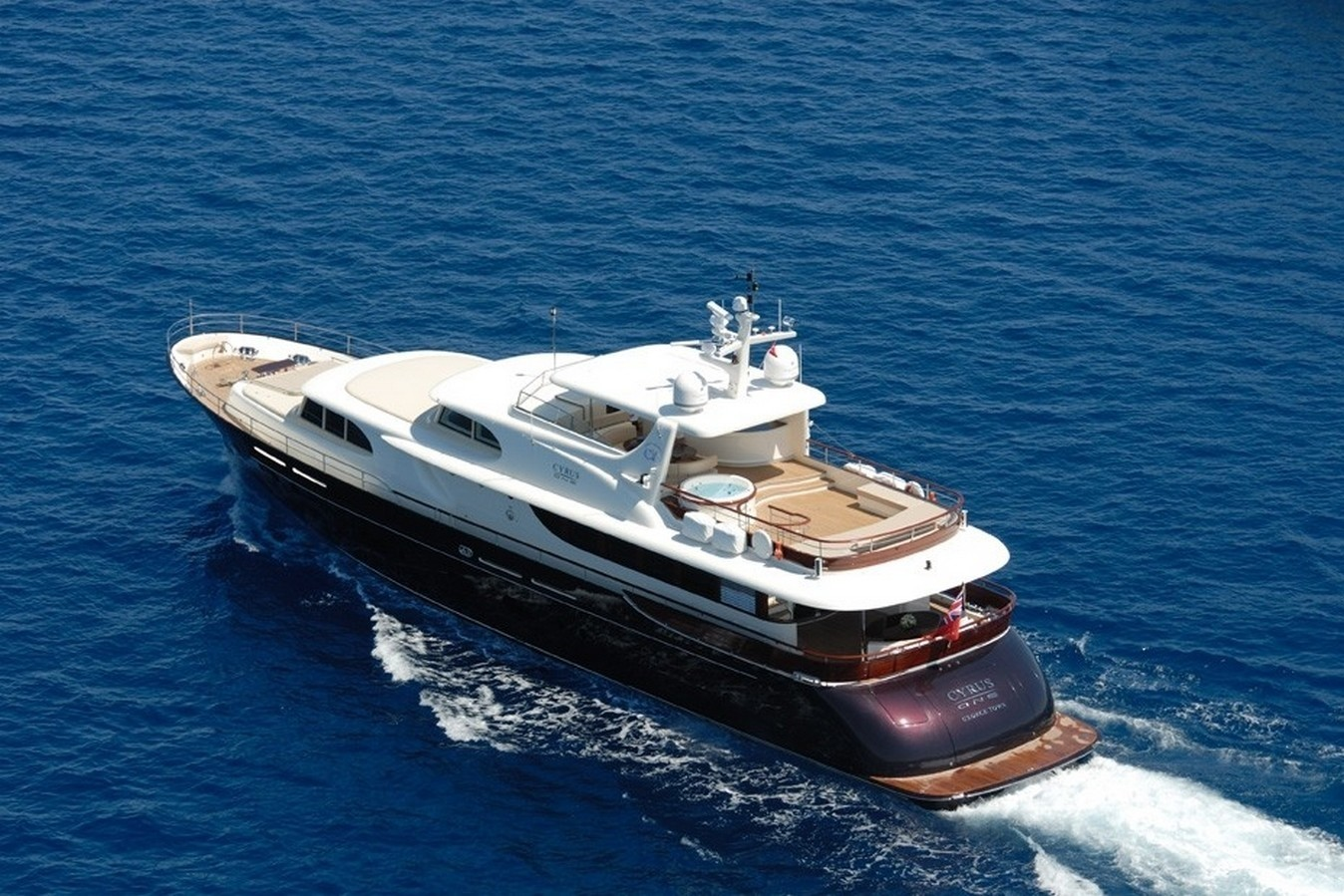 The 34m Yacht CYRUS ONE