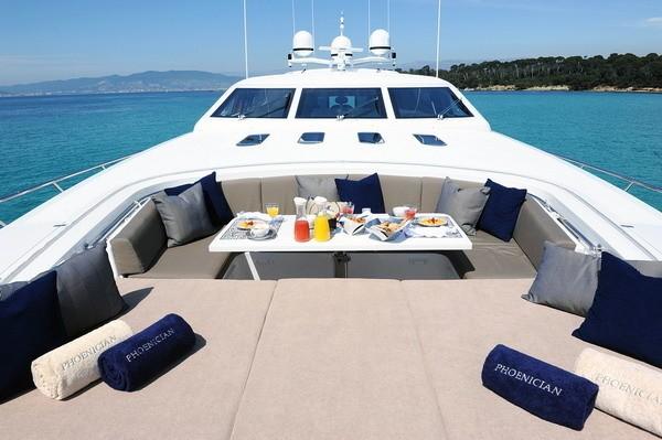 Life On Board Yacht PHOENICIAN