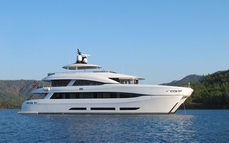 The 34m Yacht QUARANTA