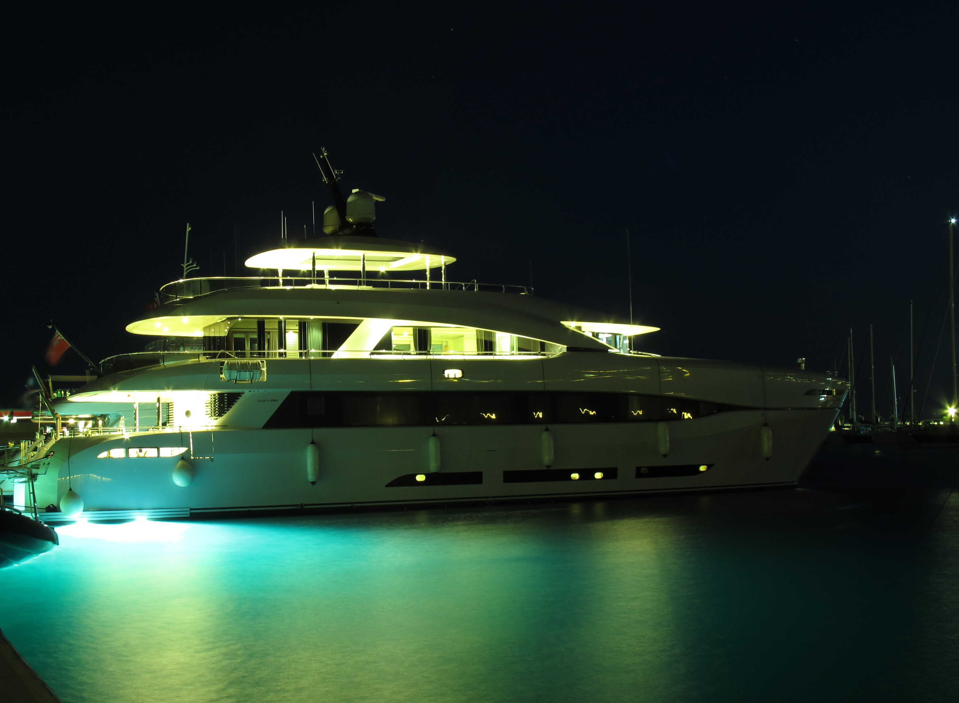 The 34m Yacht QUARANTA
