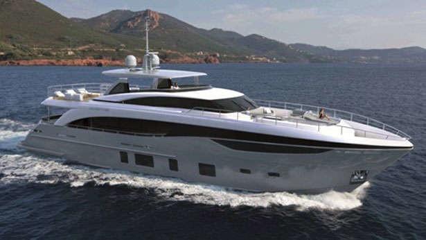 The 35m Yacht ANTHEYA III
