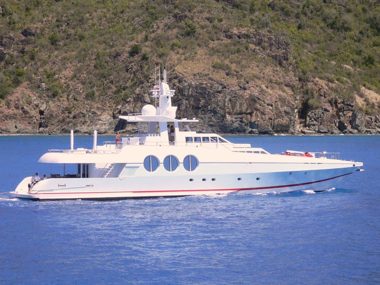 The 37m Yacht NEVER SAY NEVER