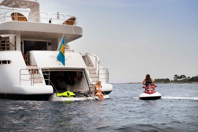 Toys: Yacht PALM B's Aft Pictured