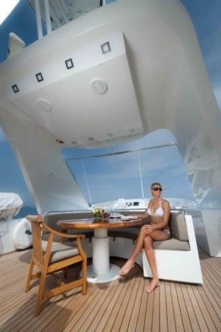 Fly-bridge Sitting On Yacht PALM B