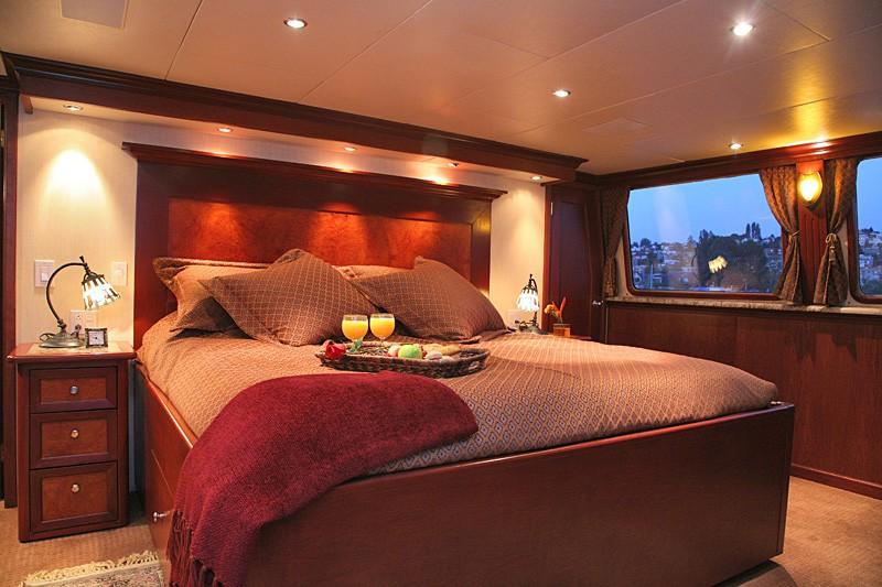 Profile: Yacht KAYANA's Main Master Cabin Image