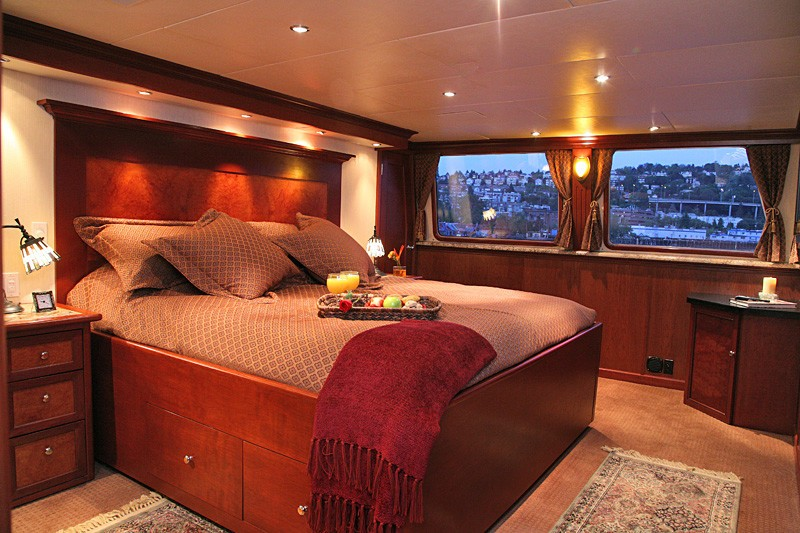Main Master Cabin On Yacht KAYANA
