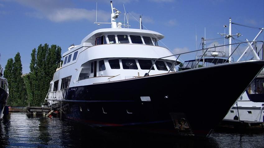 Forward Aspect Aboard Yacht KAYANA