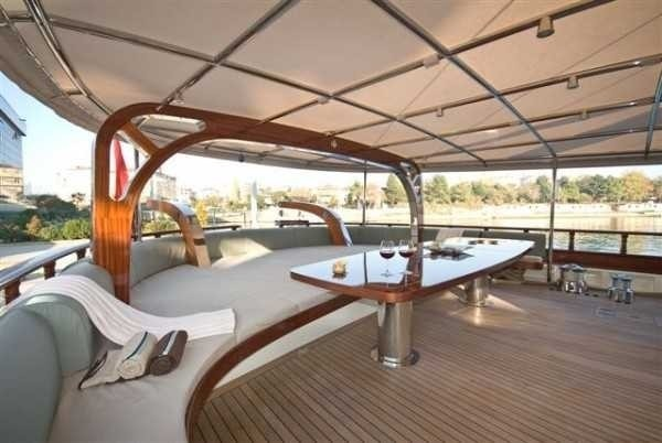 Deck On Board Yacht ZELDA