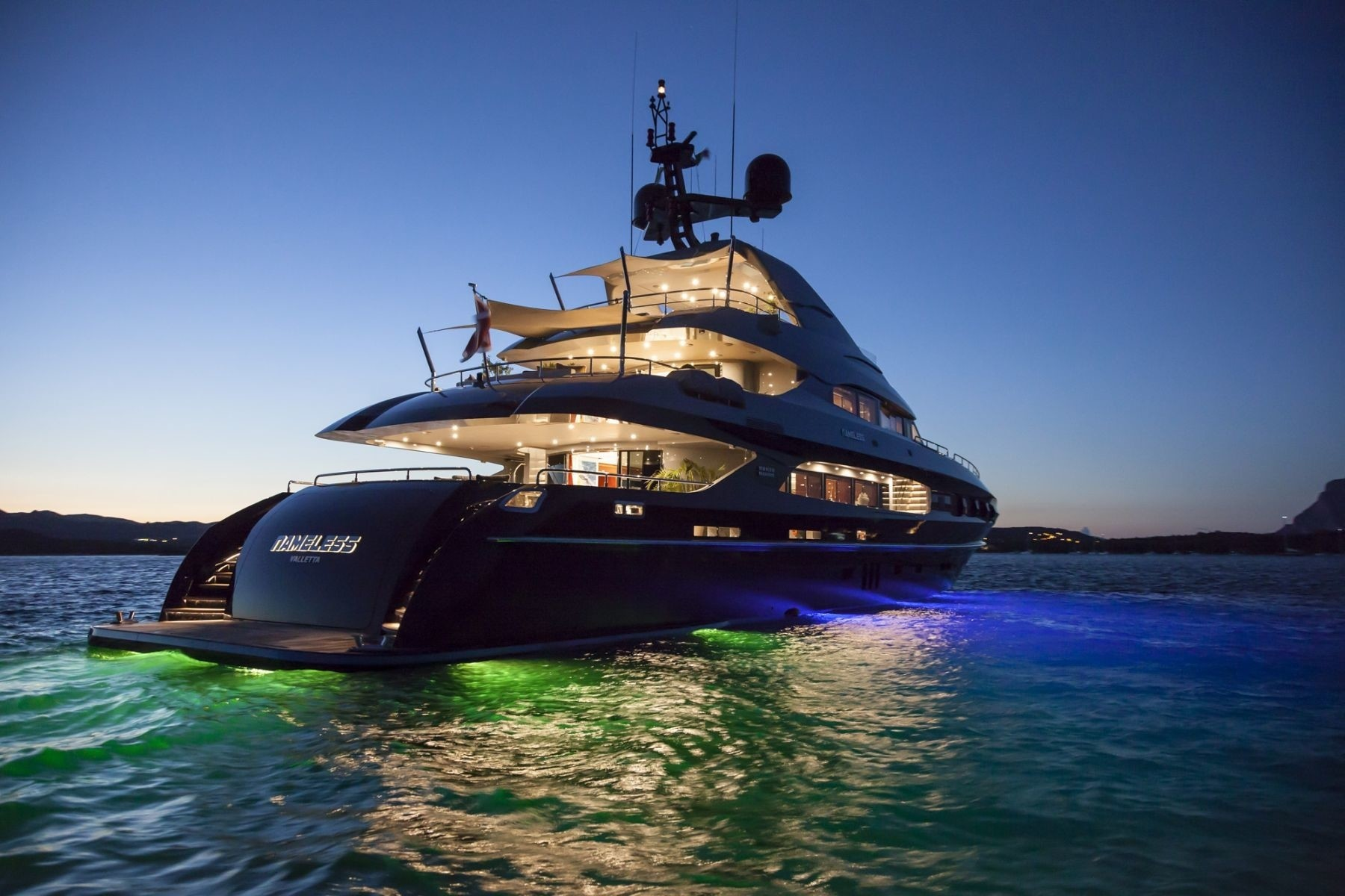 The 41m Yacht NAMELESS