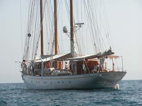 The 43m Yacht CROCE DEL SUD