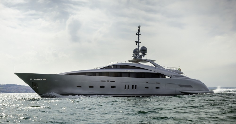 The 44m Yacht SILVER WIND