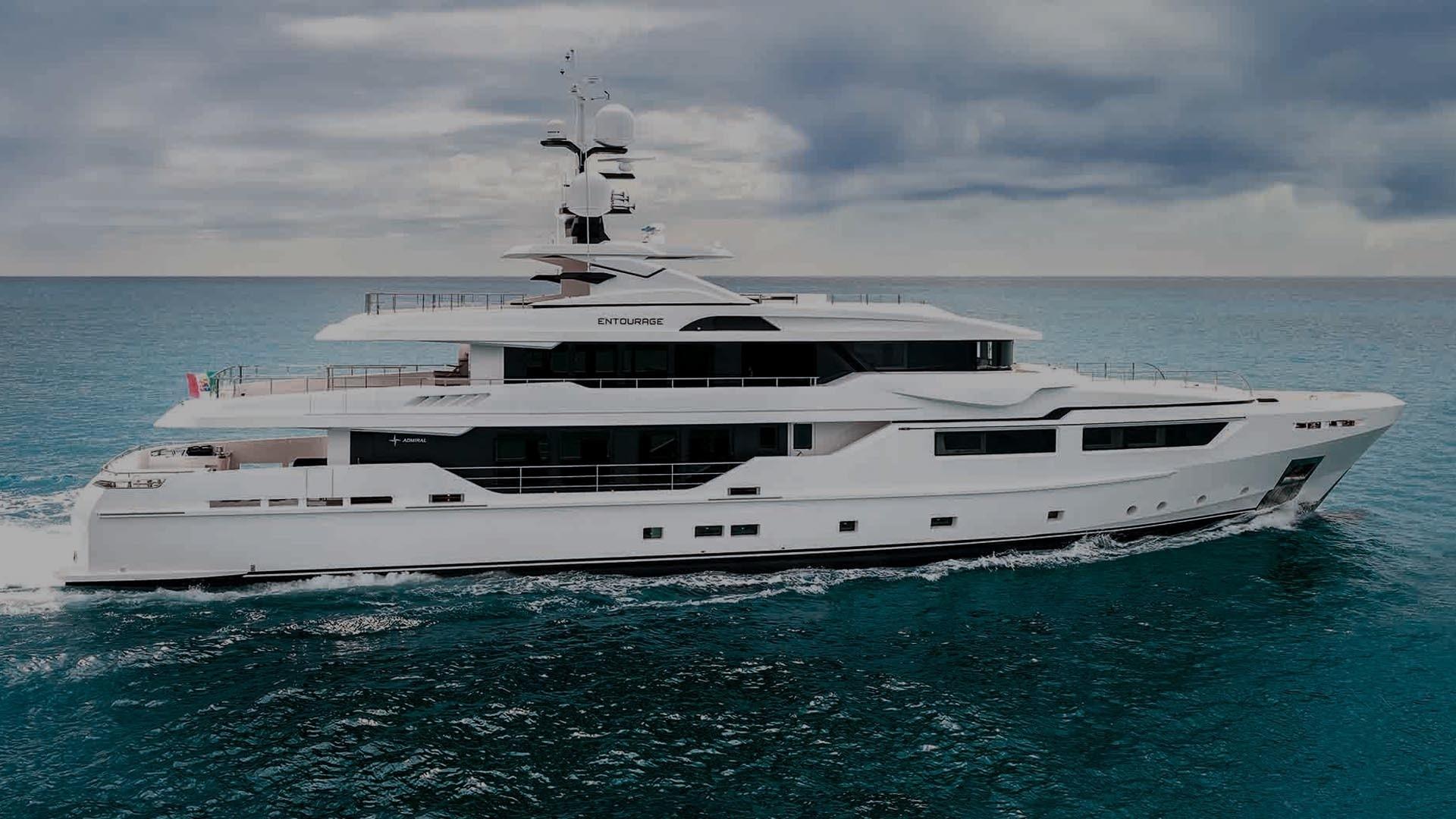 The 47m Yacht ENTOURAGE