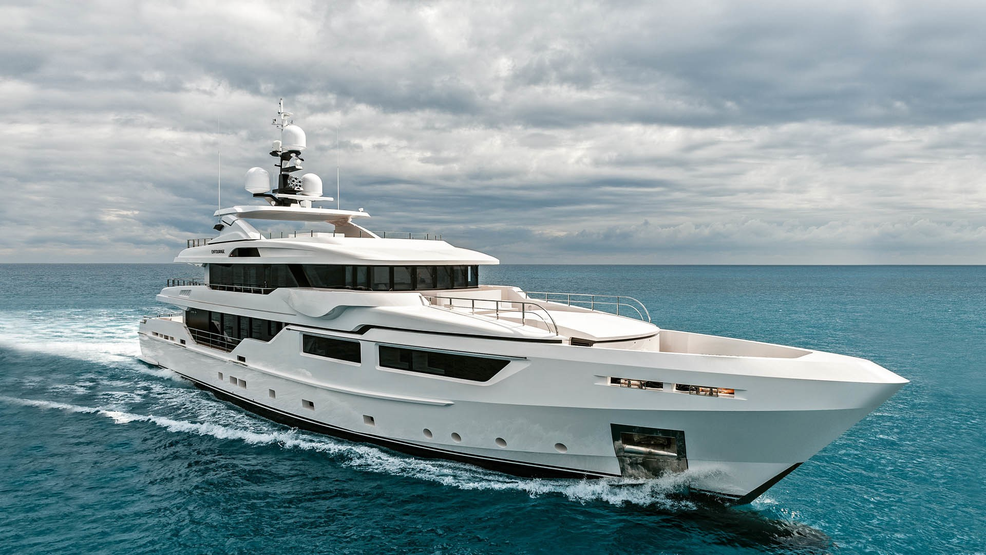 The 47m Yacht ENTOURAGE