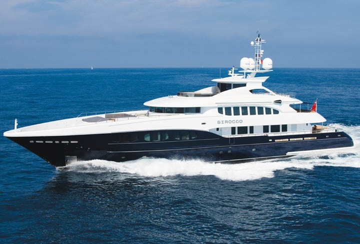 The 47m Yacht SIROCCO