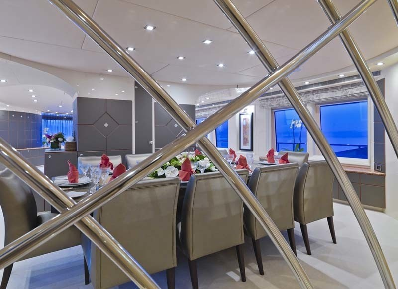 Eating/dining Close Up Aboard Yacht SISTER ACT