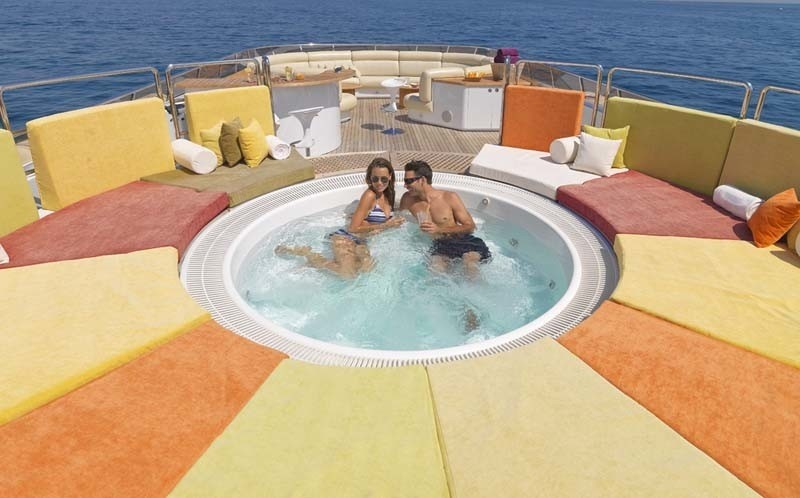 Other Dollhouse Miniatures Toy Jacuzzi Pool Area